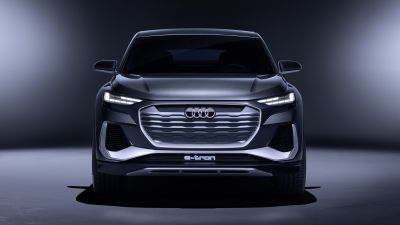 Audi Q4 Sportback e-tron, Electric SUV, Concept cars, 2020, 5K