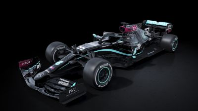 Mercedes-AMG F1 W11 EQ Performance, 2020, F1 Cars, Electric Race Cars, Dark background