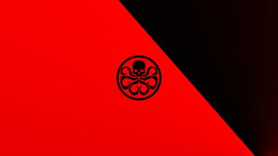 Hydra, Logo, Marvel Comics, Red