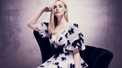 Elle Fanning, Portrait, Beautiful girl