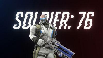 Soldier 76, Overwatch