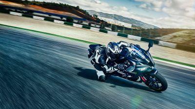 Kawasaki Ninja ZX-10R, Winter Test Edition, Racing track