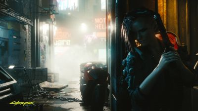 Cyberpunk 2077, Female V, Gameplay, Xbox Series X, Xbox One, PlayStation 4, Google Stadia, PC Games, 2020 Games