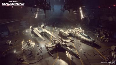 Star Wars: Squadrons, Hanger, PC Games, PlayStation 4, Xbox One, 2020 Games