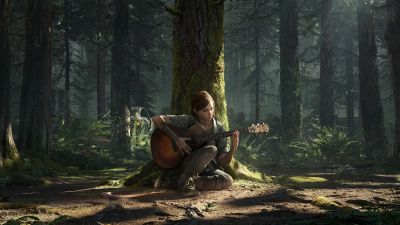 The Last of Us Part II, Ellie, PlayStation 4, 2020 Games