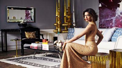Deepika Padukone, Bollywood actress, Indian actress, Traditional, Portrait, Beautiful actress, 5K, 8K