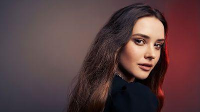 Katherine Langford, American actress, Beautiful actress, Portrait, 2020