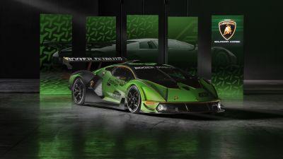 Lamborghini Essenza SCV12, Hypercars, 2020