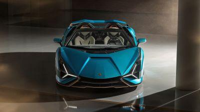 Lamborghini Sián Roadster, 2020, 5K