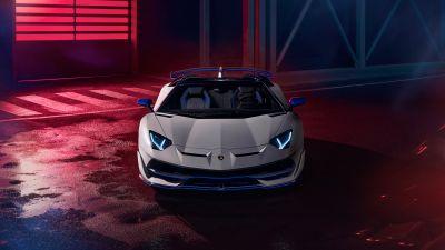 Lamborghini Aventador SVJ Xago Roadster, 2020, 5K, 8K