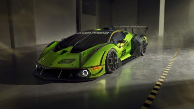Lamborghini Essenza SCV12, Hypercars, 2020, 5K, 8K