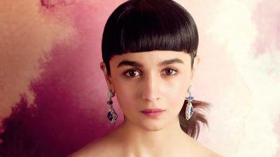 Alia Bhatt, Indian actress, Bollywood actress, Portrait, 2020