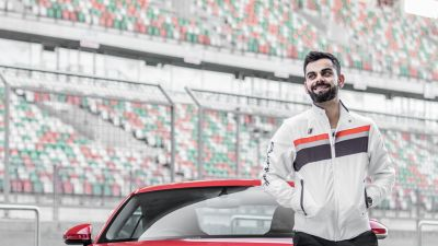 Virat Kohli, Indian cricketer, Audi TT