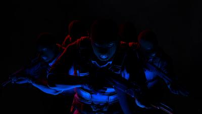 CS GO, Counter-Strike: Global Offensive, Phoenix Team, Phoenix Connection, Black background, AMOLED