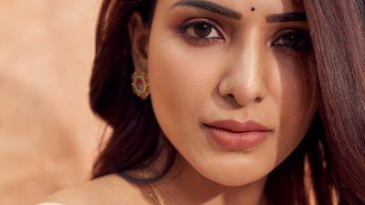 Samantha, Indian actress, Telugu actress, Beautiful actress, Portrait