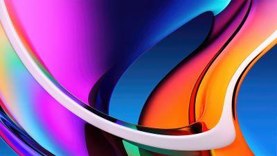 Apple iMac, Colorful, Stock, Retina Display, Gradients, Aesthetic, 5K, 8K