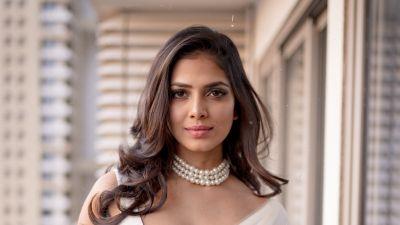 Malavika Mohanan, Saree, Indian actress