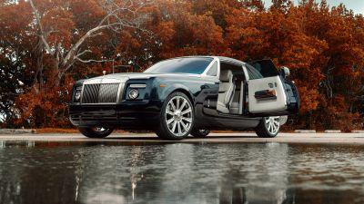 Rolls-Royce Phantom, Luxury cars, 5K