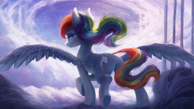 Rainbow Dash, Pegasus pony, My Little Pony Friendship is Magic
