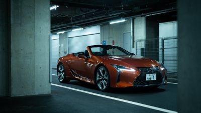 Lexus LC 500 Convertible, Luxury cars, 2020, 5K, 8K