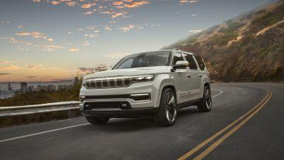 Jeep Grand Wagoneer Concept, Luxury SUV, 2020