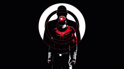 Daredevil, DC Comics, DC Superheroes, AMOLED, Black background