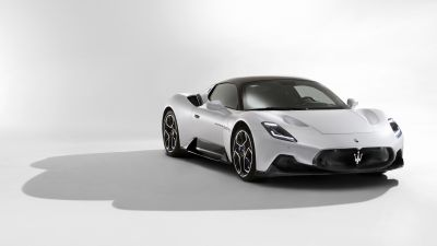 Maserati MC20, Sports cars, White background, 2021, 5K, 8K