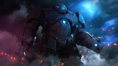 Hulkbuster, Marvel Comics, Neon