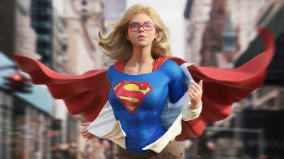 Supergirl, CGI, DC Comics