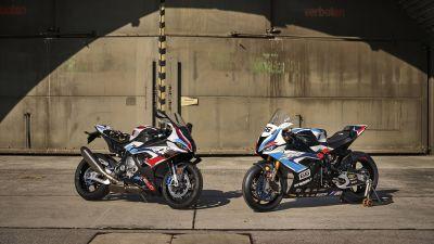 BMW M 1000 RR, Race bikes, 2021, 5K