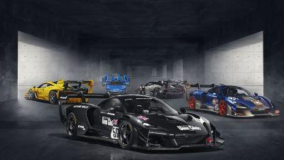 McLaren Senna GTR LM, 2020, 5K, 8K