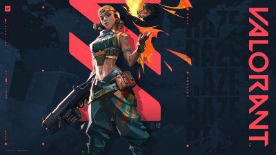 Raze, Valorant, PC Games, 2020 Games