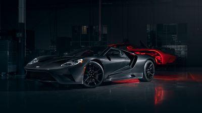 Ford GT, Liquid Carbon, Carbon Fiber, 2020, Dark