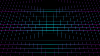 Grid, Black background, Neon, Squares, 5K, 8K