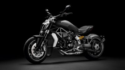 Ducati XDiavel, Cruiser motorcycle, Dark background