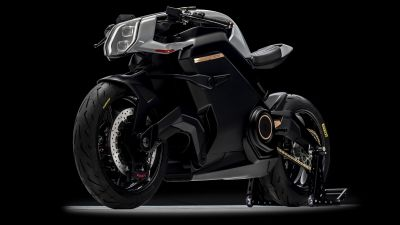 Arc Vector, Electric bikes, Cafe racer, Future bikes, Black background, 5K, 8K