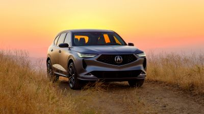 Acura MDX Prototype, Sunset, 2020, 5K, 8K