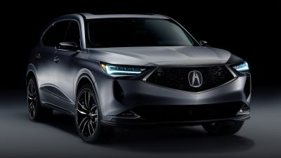 Acura MDX Prototype, 2020, Black background, 5K, 8K