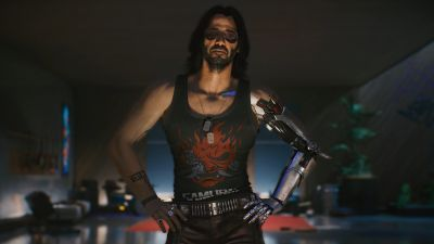 Johnny Silverhand, Cyberpunk 2077, Keanu Reeves, 2020 Games