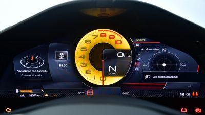 Ferrari Roma, Sports cars, Interior, Cockpit, Instrument Cluster, Speedometer, 2021, 5K