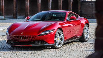 Ferrari Roma, Sports cars, 2021, 5K