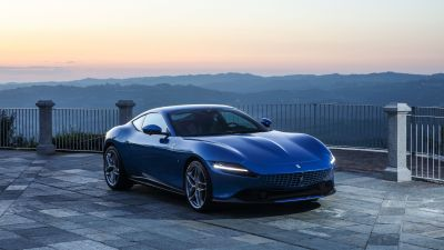 Ferrari Roma, Sports cars, 2021, 5K, 8K