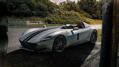 Ferrari Monza SP1, Novitec, 2020, 5K, 8K
