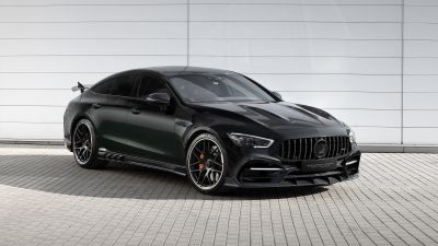 Mercedes-AMG GT 63 S 4MATIC+ 4-Door Coupé, TopCar, 2020, White background, 5K