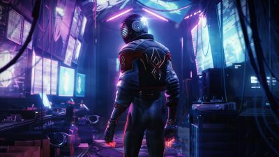Marvel's Spider-Man: Miles Morales, Cyberpunk, Neon, PlayStation 5, 2020 Games