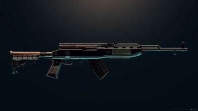 SKS, PUBG MOBILE, DMR, Designated Marksman Rifle, PlayerUnknown's Battlegrounds