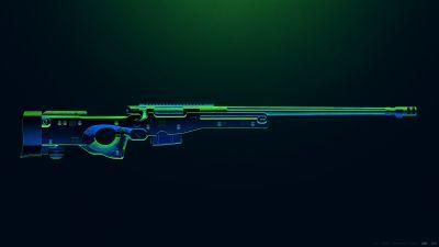AWM, PUBG MOBILE, Sniper rifle, PlayerUnknown's Battlegrounds