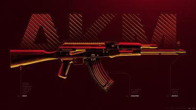 AKM, Assault rifle, PUBG MOBILE, PlayerUnknown's Battlegrounds