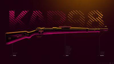 Kar98, Sniper rifle, PUBG MOBILE, PlayerUnknown's Battlegrounds