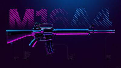 M16A4, Assault rifle, PUBG MOBILE, PlayerUnknown's Battlegrounds